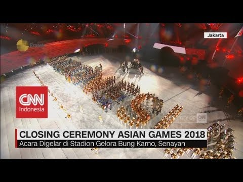 Kemeriahan Closing Ceremony Asian Games 2018