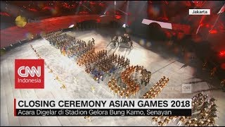 Download lagu Kemeriahan Closing Ceremony Asian Games 2018