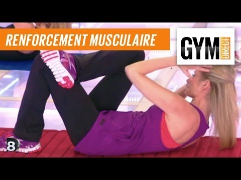 Cours gym : rent musculaire 1 : Taille dos & fessiers