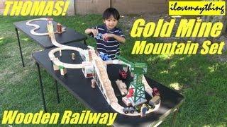 Sodor Gold Mine Mountain Set - Thomas Wooden Railway Set