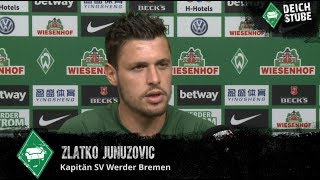 Seit montag ist es offiziell: zlatko junuzovic wird den sv werder bremen nach sechseinhalb jahren treue im sommer verlassen. in einer medienrunde mit bremer ...