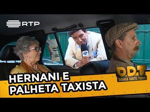 Hernani e palheta taxista | Donos Disto Tudo