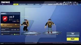 Fortnite dances in ROBLOX in lobby