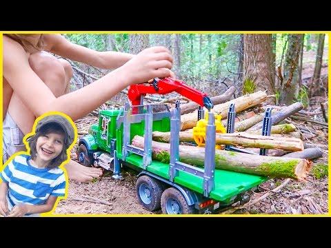 New Bruder Logging Truck Surprise