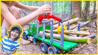 New Bruder Logging Truck Surprise