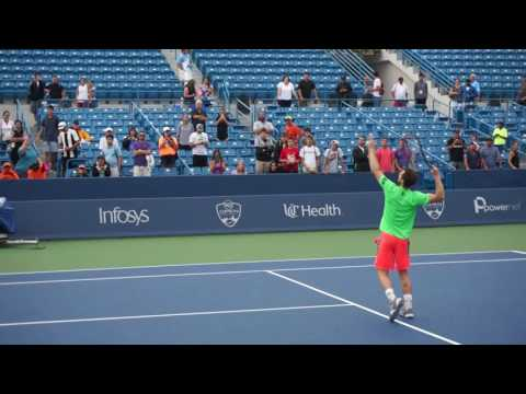 Andy Murray practice cincinnati masters 2016