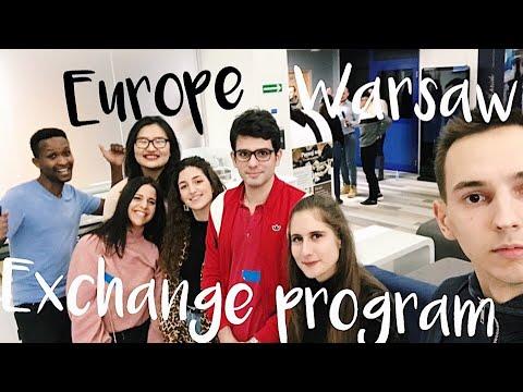 Как уехать на стажировку в Европу / Польша, Варшава