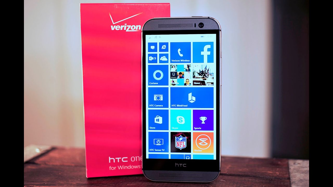 HTC One M8 for Windows - Unpacking