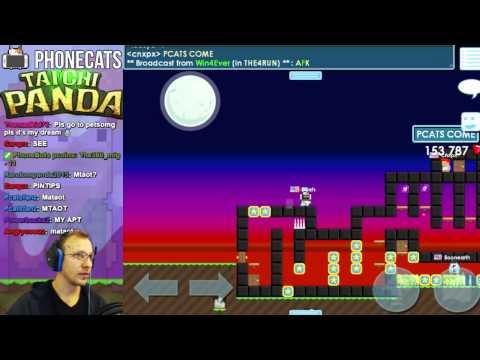 Growtopia - BURN + Fan Maps + Flash Mobs