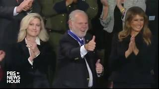 WATCH: Rush Limbaugh receives Medal of Freedom | 2020 State of the Union