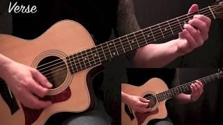 Tool - Sober - Acoustic Guitar Lesson