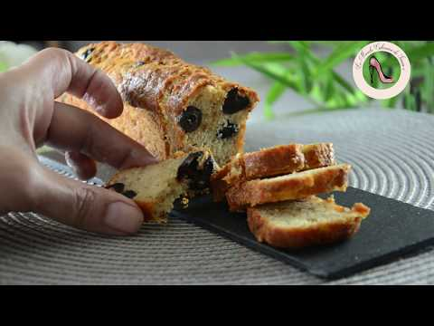 recette-cake-n°1-thon-olive-fromage-facile