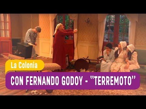 """La Colonia con Fernado Godoy """"Terremoto"""" / Mega"""