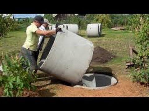 видео: Шамбо без крана своими руками септик строим сами /  groundwater septic / septic build themselves