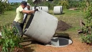 Шамбо без крана своими руками септик строим сами /  groundwater septic / septic build themselves(Перевести деньги посильную помощь на развитие нашего канала Горячий Мастер можете через платежный терми..., 2014-07-11T15:49:49.000Z)