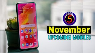 Top 5 Upcoming Mobiles in November 2019 ! Price & Launch Date in india