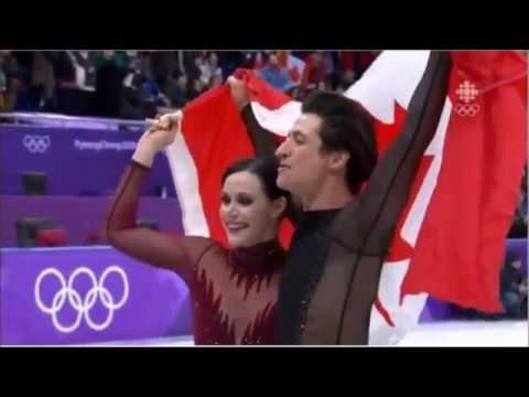 Virtue//Moir Post FD interview with Radio Canada