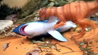 КАКАШКА С НЕБА И ОХОТНИК ЗА АКУЛАМИ! Мультик для детей. Игрушки. Видео с игрушками