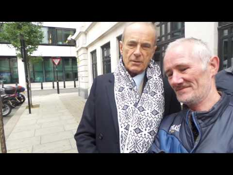 Francis Rossi OBE from Status Quo in London 21 10 2016