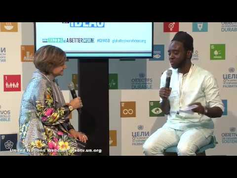 Cross-generational Dialogue with Christina Gallach and Chernor Bah