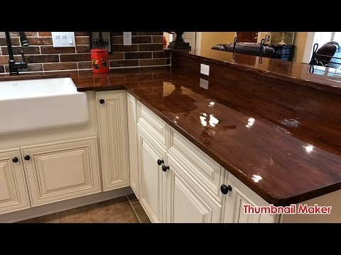 D.I.Y. (Do it Yourself) Butcher Block / Wood Countertops