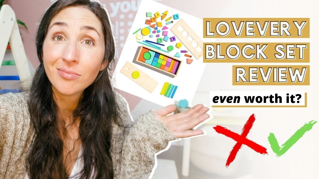 Lovevery Block Set Review Is It Worth It  THOUGHTS AFTER 1 YEAR
