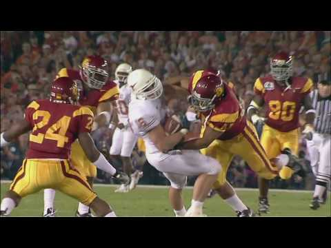 2005 BCS National Championship (Rose Bowl) - #2 Texas vs. #1 USC (HD)