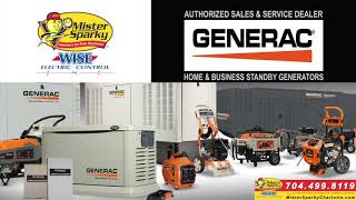 Need a Generator in the Charlotte NC area?
