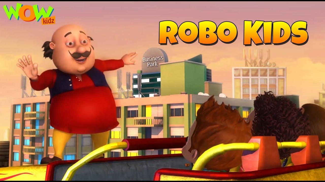 Download New Year's Special | New Movie of MOTU PATLU | Robo Kids | Full Movie | Wow Kidz