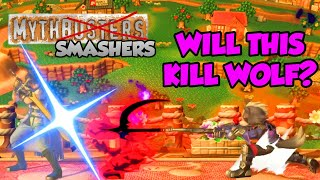 Does Death's Scythe INSTAKILL Its User When Countered?! - Mythsmashers #5 (Smash Ultimate)