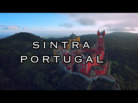 SINTRA - PORTUGAL - BY DRONE TRAVEL