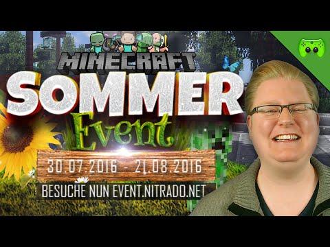 Minecraft Sommer Event und Talkrunde mit Peter