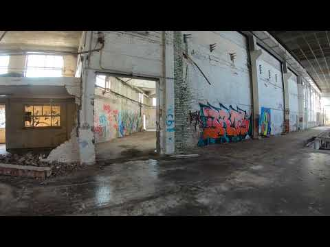 Fpv Urbex exploration of one of many abandoned industrial sites in Belgium