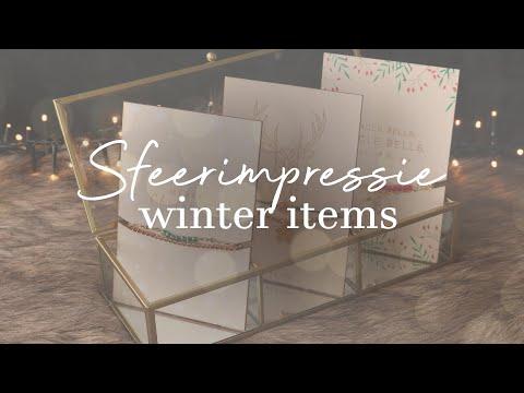♥ Sfeerimpressie nieuwe winter items