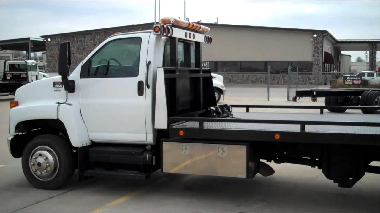 2008 gmc c6500 21 u0026 39  nrc rush towing systems 800