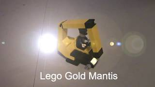 How to Build A Lego Gold Mantis (MKDS)