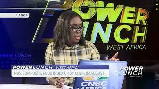 Nigeria's food prices up