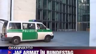 Germania Un barbat a furat un sac cu bani de posta Parlamentului si apoi s-a sinucis