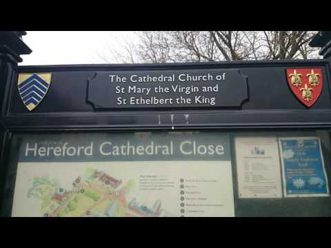 Hereford. Wales. UK. Travel destination