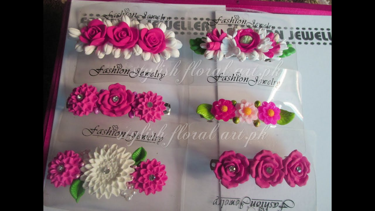 Handmade hairclips youtube mightylinksfo