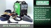 Tig Welder   Everlast PowerTIG 255EXT Digital Inverter IGBT