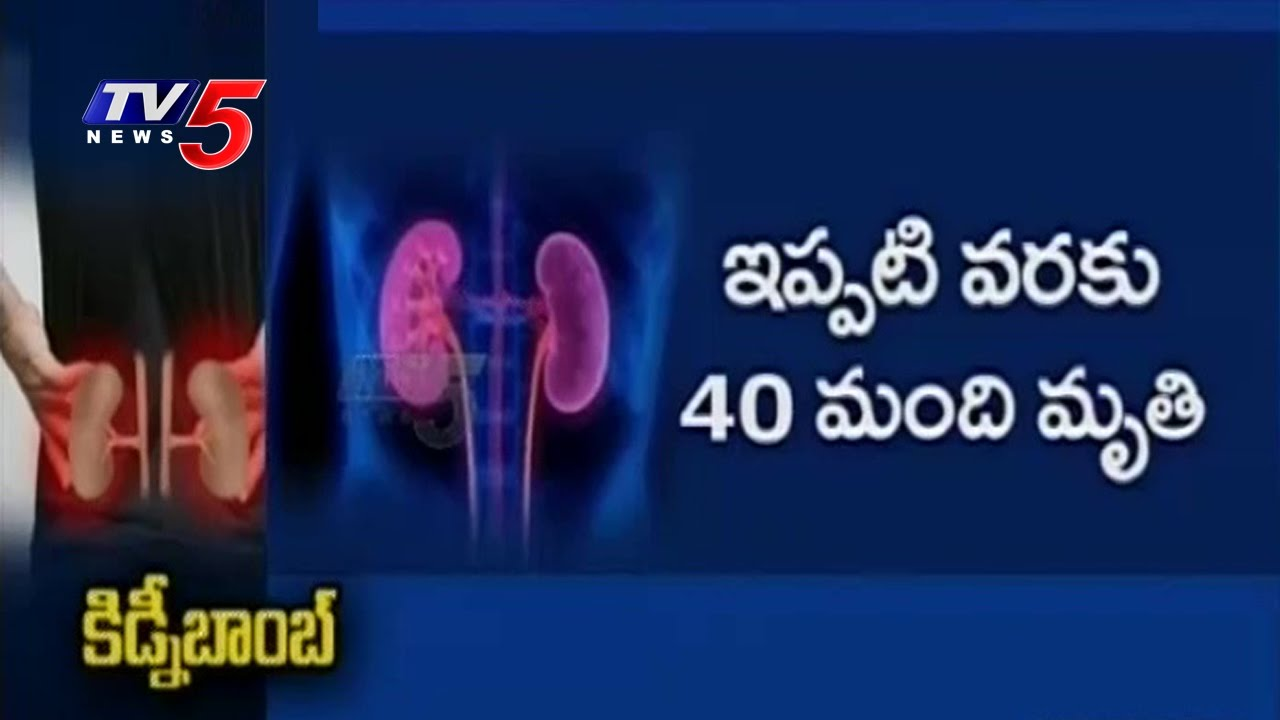Reason  Behind Kidney Disease Deaths Increase in Telugu States | TV5 News