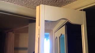 Diy Tip Updating Mirrored Bifold Closet Doors