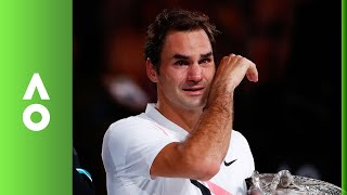 Federer's emotional winning speech | Australian Open 2018