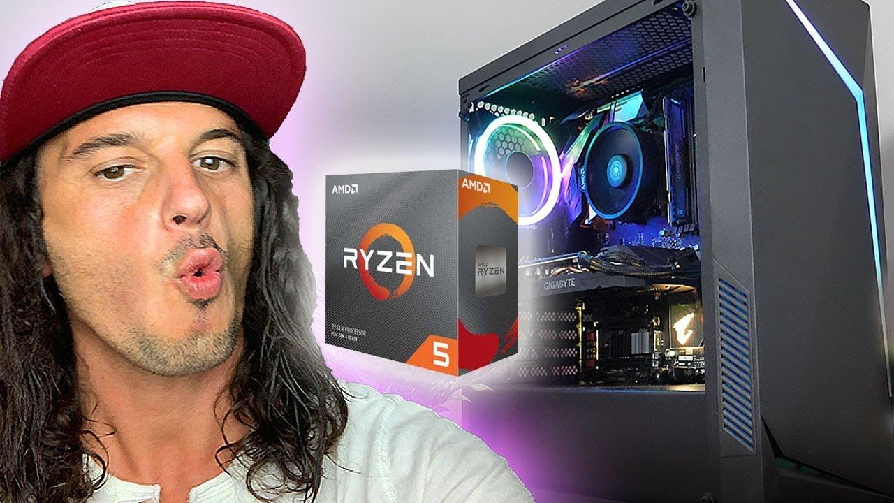 El PC GAMING de Gama Media-Alta Perfecto!✅ con Ryzen 5 3600 | Presupuesto PC Gamer