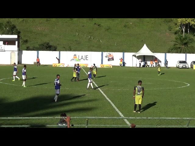 Gol de Laje1x0 Santo Amaro pela Copa Intervale 2019