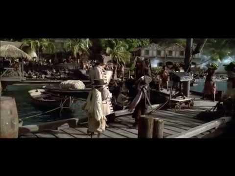 Pirates Des Caraibes 1  L'Arrivée De Sparrow Scène Mythique