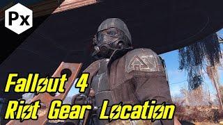 Fallout 4: Riot Gear Location (NCR Ranger Veteran Armor Mod)