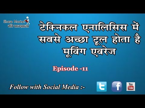 Moving Average are the two types - SMA or EMA || Episode -11