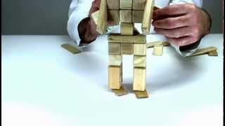 Learn How To Build Superman Out Of Tegu And Create A Constuction Game!